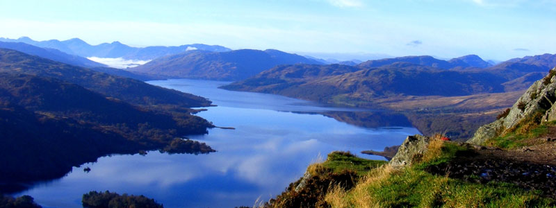 Loch Katrine from the top of Ben A