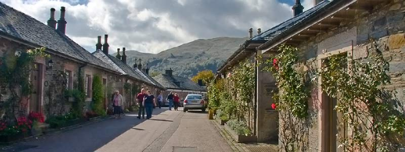 The conservation village of Luss
